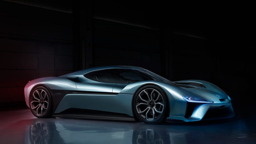 Nio EP9 Chinese electric Car