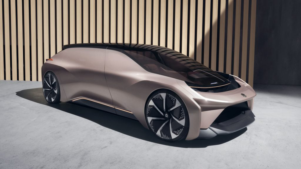Nio EVE Chinese electric Car