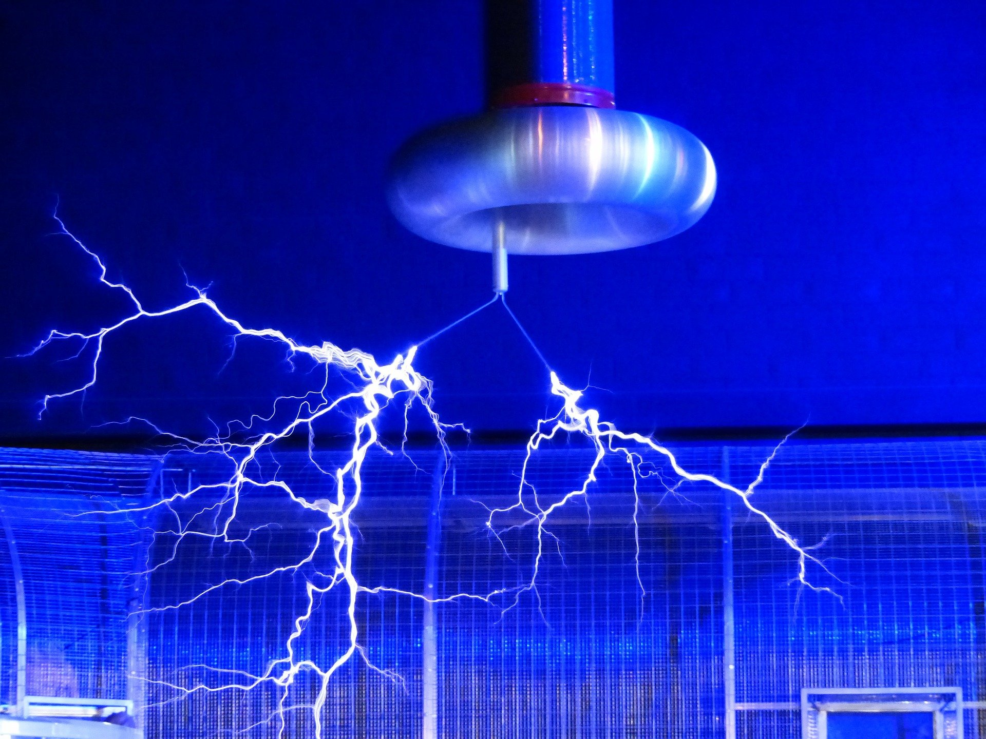 Elemental Gases in Front of a Tesla Coil