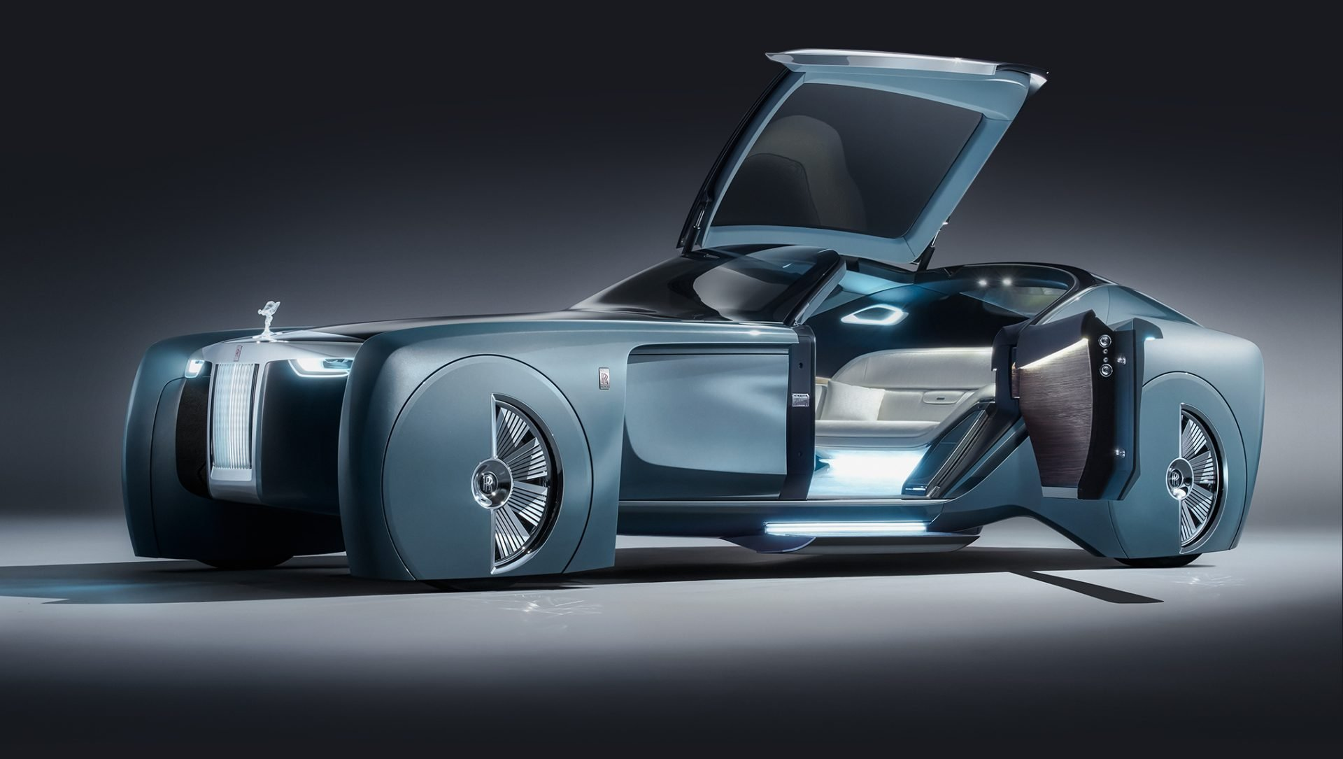 Rolls-Royce 103EX Redefines the Future of Luxury