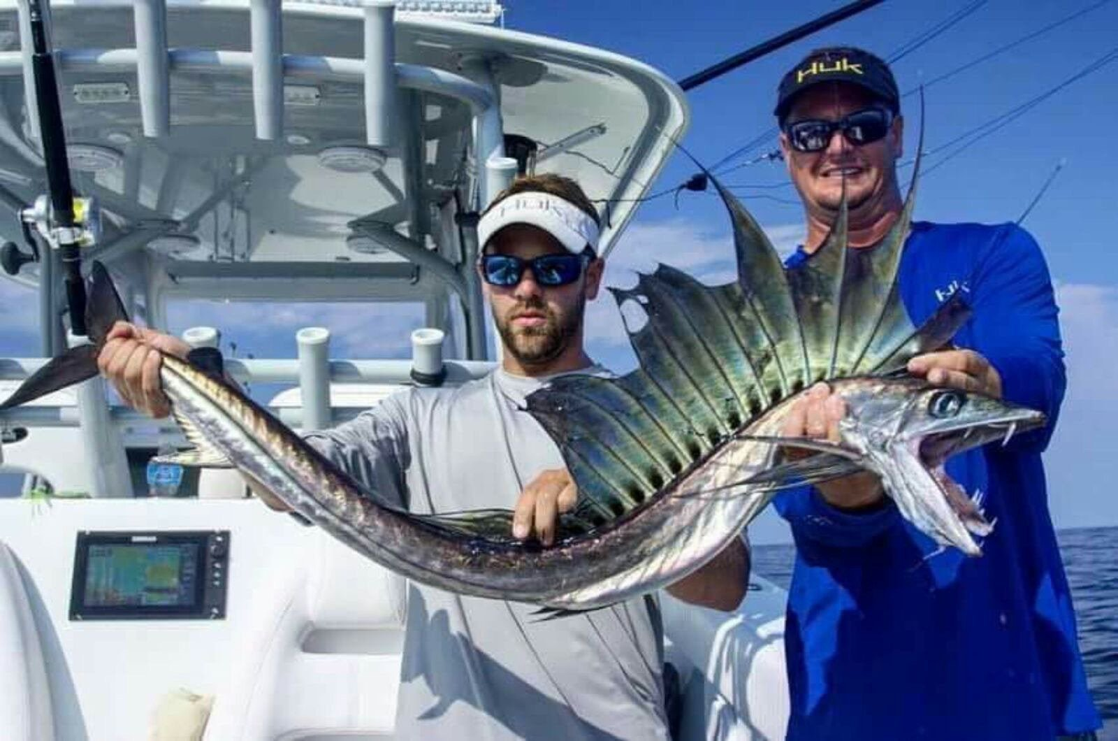 Scary Lancetfish Caught In Hatteras NC